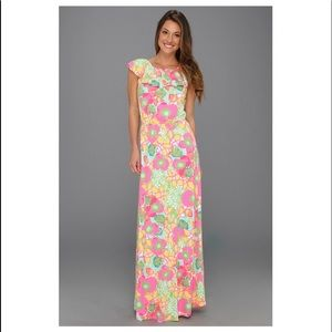 Lilly Pulitzer Marley Maxi Multi Ice Cream Social